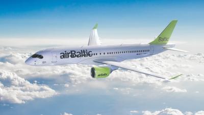 Η Πάρος και στο πτητικό πρόγραμμα της Air Baltic