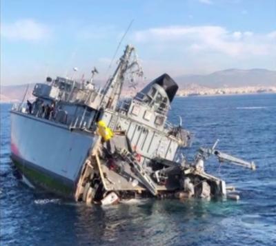 Δωρεά στο πολεμικό ναυτικό η ρυμούλκηση του ναρκοθηρευτικού «Καλλιστώ»