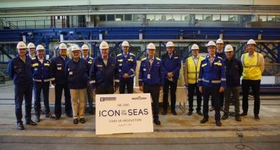 Royal Caribbean: Ξεκινά η κατασκευή του πρώτου της LNG κρουαζιερόπλοιου