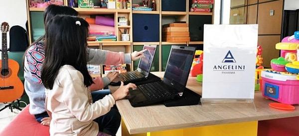 Η Angelini Pharma Hellas υποστηρίζει το «Χαμόγελο του Παιδιού» με δωρεά τεχνολογικού εξοπλισμού