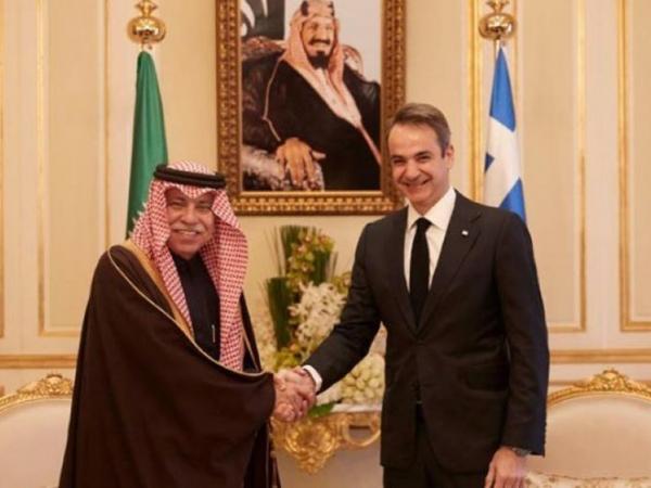 Μητσοτάκης-Σαλμάν: Πυλώνας σταθερότητας η συνεργασία Σαουδικής Αραβίας-Ελλάδας