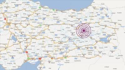 Ισχυρή σεισμική ακολουθία 5,7 και 4,9 Ρίχτερ στην ανατολική Τουρκία