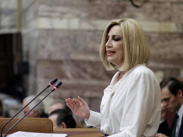 Φ. Γεννηματά: Θα καταψηφίσουμε τον νόμο Βρούτση για το Ασφαλιστικό