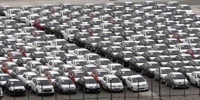 ΕΕ: Υποχώρησαν οι ταξινομήσεις αυτοκινήτων τον Αύγουστο