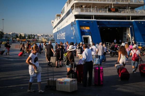Αυξημένη η κίνηση στο λιμάνι του Πειραιά - 23 προγραμματισμένα δρομολόγια για σήμερα