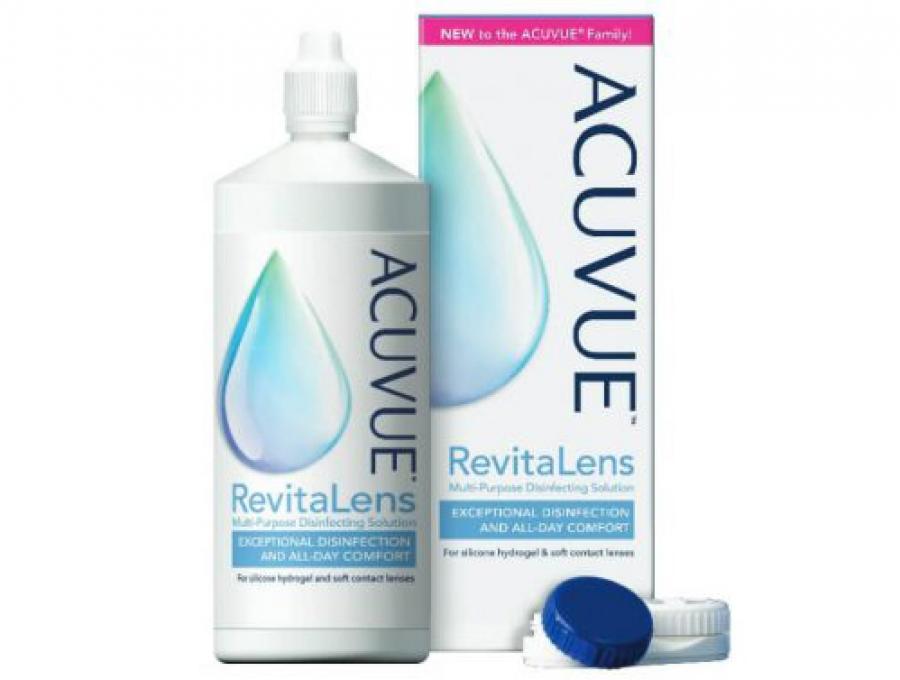 Johnson & Johnson Vision: Κυκλοφορεί το νέο Διάλυμα Απολύμανσης Πολλαπλών Χρήσεων ACUVUE® RevitaLens για φακούς επαφής