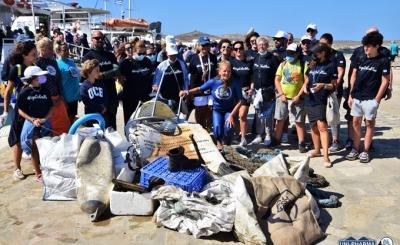 Περιβαλλοντική δράση στο εμβληματικό νησί της Δήλου από τις Uni-pharma & InterMed