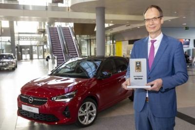 """Connected Car Award"" για το νέο Opel Corsa"