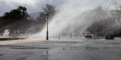 Έκτακτο δελτίο ΕΜΥ: Καταιγίδες και ισχυροί άνεμοι την Κυριακή