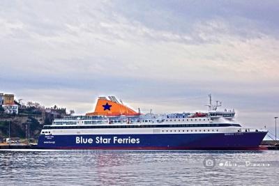 Τελευταίο δρομολόγιο για το Blue Star Myconos στις 26 Οκτωβρίου