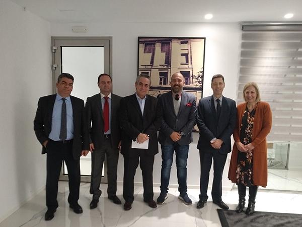 Συνάντηση μελών του ΔΣ της ΠΟΑΔ με τον Κωνσταντίνο Μίχαλο