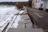 Μυτιλήνη: Τεράστιες ζημιές από την κακοκαιρία