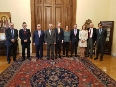 Επίσκεψη αντιπροσωπείας της ΕΑΕΕ στον Πρόεδρο της Δημοκρατίας
