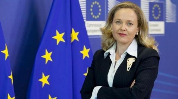 Πρώτη υποψήφια πρόεδρος του Eurogroup η Ισπανίδα υπουργός Οικονομικών, Νάντια Καλβίνιο