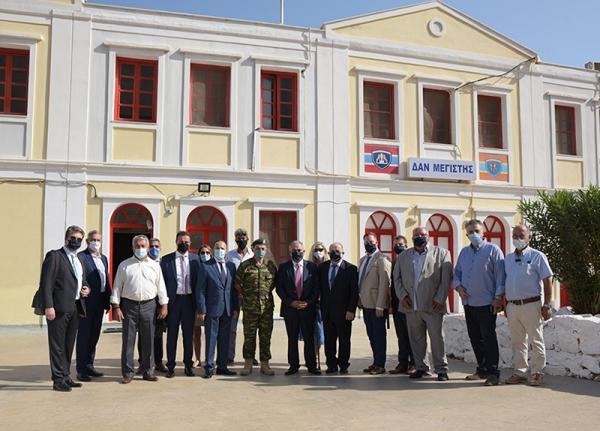 Το Ε.Ε.Α. δίπλα στους ακρίτες του Καστελόριζου - Γ. Χατζηθεοδοσίου: Η προσφορά προς τους κατοίκους του νησιού θα συνεχιστεί»