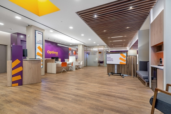 Optima Bank: Συνεχίζει την ανάπτυξη του δικτύου της
