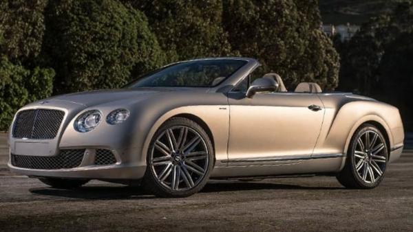 Η νέα Continental GT Speed Convertible της Bentley