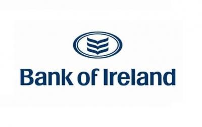 Η ιρλανδική κυβέρνηση πουλάει το 13,9% της συμμετοχής της στην Bank of Ireland