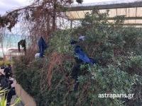 Χίος: Κάτοικοι εισέβαλαν στο ξενοδοχείο που διαμένουν τα ΜΑΤ