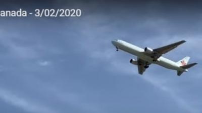 Θρίλερ με αεροσκάφος της Air Canada πάνω από τη Μαδρίτη - LIVE η προσγείωση