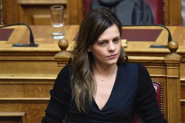 Έφη Αχτσιόγλου: «Απαιτείται σοβαρή επεξεργασία και κατάθεση ολοκληρωμένης πρότασης για «κούρεμα» οφειλών - Να αξιοποιηθούν τα κοινοτικά κονδύλια και για τη στήριξη των μικρομεσαίων»