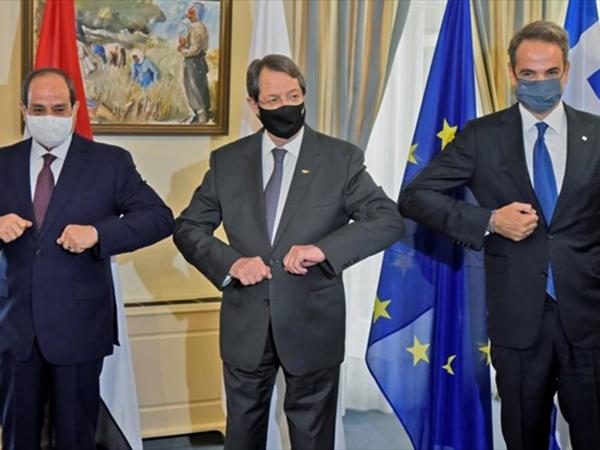 Καταδίκη της Τουρκίας στην Κοινή Διακήρυξη Ελλάδας, Κύπρου και Αιγύπτου