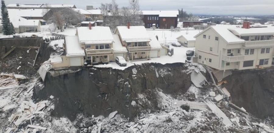 Η θανατηφόρα κατολίσθηση στη Νορβηγία θα κοστίσει στους ασφαλιστές τουλάχιστον 107 εκατ. δολάρια