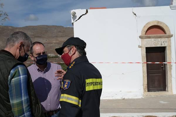 Πρωτοβουλία Πλακιωτάκη για την άμεση αναστήλωση του Ιερού Ναού Αγίου Νικολάου στον Ξερόκαμπο Σητείας