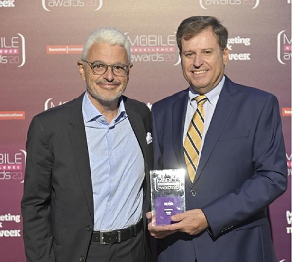 Βράβευση της INTERAMERICAN για το Medi ON στα Mobile Excellence Awards
