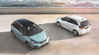 Με ισχυρές υβριδικές επιδόσεις και προηγμένη συνδεσιμότητα το νέο Honda Jazz e:HEV