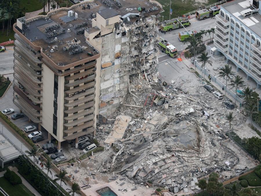 Κατάρρευση πολυκατοικίας στη Φλόριντα: Στους 98 νεκρούς ο οριστικός απολογισμός των θυμάτων