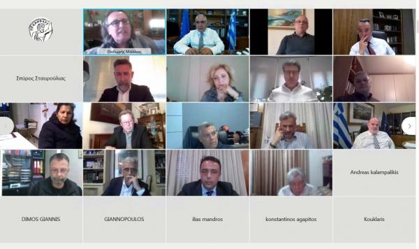 Σταϊκούρας σε τηλεδιάσκεψη του ΕΕΑ: «Θα πρέπει το κράτος να συνεχίσει να είναι μαζί σας και το επόμενο διάστημα»