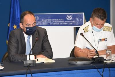 Αυξημένη επιτήρηση και πρόσθετους ελέγχους σε λιμάνια και πλοία ενόψει της εξόδου του Δεκαπενταύγουστου ζήτησε ο Γ. Πλακιωτάκης