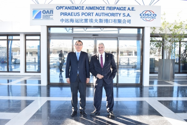 Official visit of the Attica Regional Governor G. Patoulis at the PPA S.A.