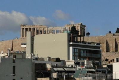 Αποφασίστηκε η αποκοπή των 2 ορόφων του ξενοδοχείου στην Ακρόπολη