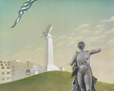 Έκθεση του Πέτρου Ζουμπουλάκη με τίτλο «Η Αθήνα Μου - Πενήντα Χρόνια Ατομικής Εικαστικής Δημιουργίας» στο «ΣΤΟart ΚΟΡΑΗ» της Εθνικής Ασφαλιστικής