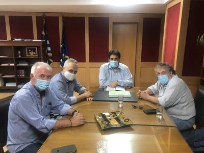 Συνάντηση Ενώσεων Περιφερειακού και Κλαδικού Τύπου με τον Υφυπουργό παρά τω Πρωθυπουργώ Θ. Λιβάνιο
