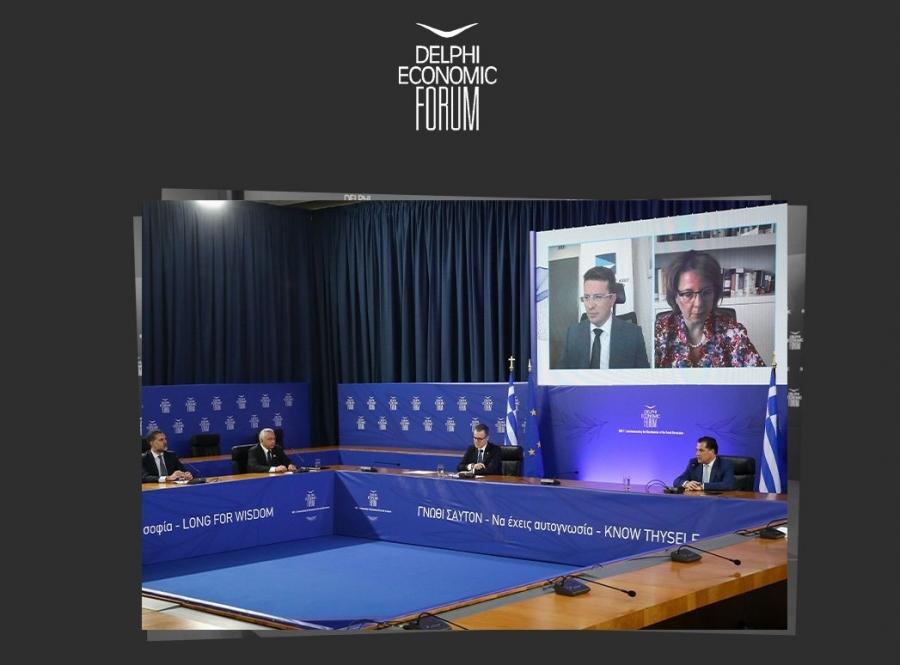 Ρ. Λαμπίρης: Ιστορική ευκαιρία για δομικές μεταρρυθμίσεις με τα κεφάλαια του Ταμείου Ανάκαμψης - Ψηφιοποίηση και αειφορία οι προτεραιότητες