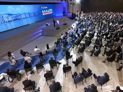 Μητσοτάκης: Πέφτει ο συντελεστής φόρου εισοδήματος από το 24% στο 22% σε μόνιμη βάση - Καταργείται ο φόρος στις γονικές παροχές έως 800.000 ευρώ