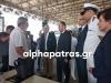 Πλακιωτάκης από λιμάνι Πάτρας: Υποδειγματικός ο τρόπος με τον οποίο υλοποιοιείται το πλάνο ενισχυμένων ελέγχων