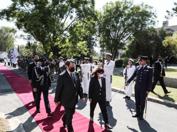 Πρώτη επίσκεψη της Κ. Σακελλαροπούλου στην Κύπρο - Στο στόχαστρο τουρκικών ΜΜΕ