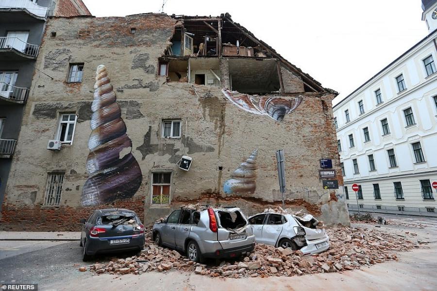 Κροατία: Στα 5,52 δισ. ευρώ το ύψος των ζημιών από τον σεισμό του Μαρτίου