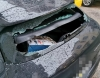 Επίθεση κατά του βουλευτικού αυτοκινήτου του Φλαμπουράρη στα Εξάρχεια
