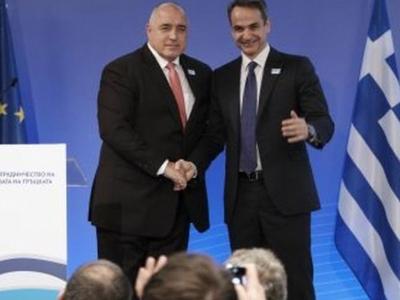 Μητσοτάκης: «Ελλάδα και Βουλγαρία βαδίζουμε μαζί στο δρόμο της ειρήνης και της ανάπτυξης»