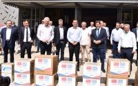 Δωρεά υγειονομικού υλικού από την ΟΛΠ Α.Ε. σε Δήμους του Δυτικού Τομέα Αθηνών