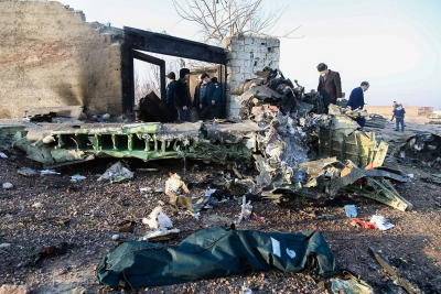 Τεχεράνη: Συντριβή ουκρανικού αεροσκάφους με 176 επιβαίνοντες (vid)