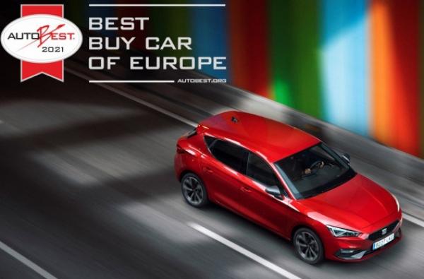 Το Seat Leon ανακηρύχθηκε «Best Buy Car of Europe 2021»
