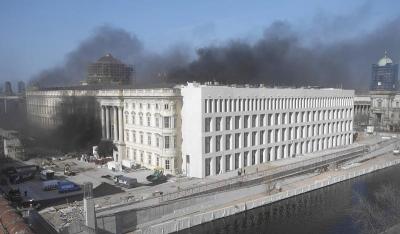 Φωτιά ξέσπασε στο Ανάκτορο του Βερολίνου