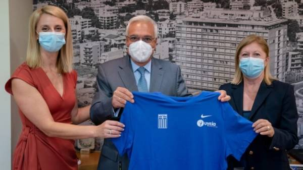 ΥΓΕΙΑ: Συνεχίζει να στηρίζει την Εθνική Αθλητική Ομοσπονδία Ατόμων με Αναπηρίες για μία ακόμη τετραετία