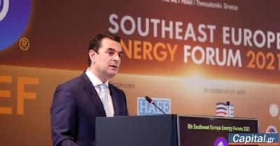 Σκρέκας: Πρωτοφανής η δυναμική του φυσικού αερίου στην Ελλάδα και στα Βαλκάνια